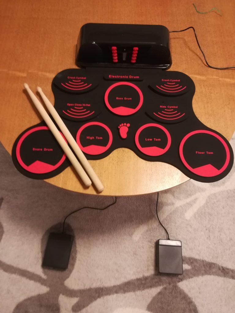 簡易電子ドラム